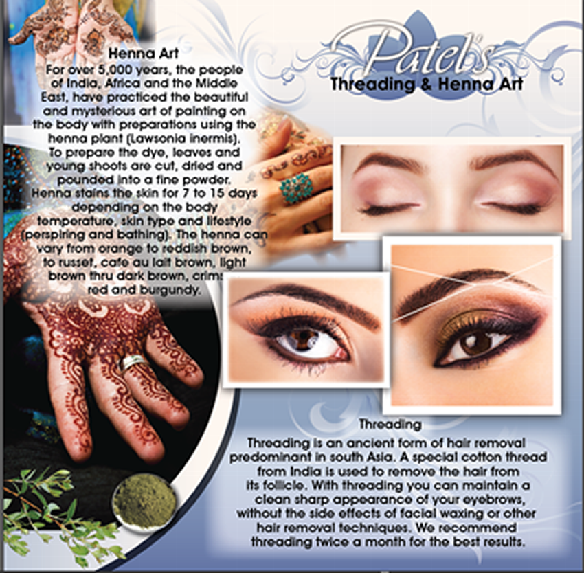 Eyebrows Threading Henna Art Las Vegas Nv Bakersfield Ca